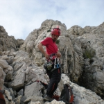 Pregled opreme in priprave na plezanje
