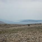 Pogled na Goli otok in otok Gurgur