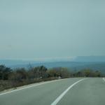 Prelivanje oblakov preko otoka Cres