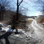 Križišče pred planinskim domom