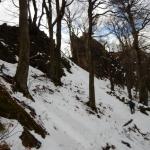 Zadnji vzpon pred vrhom