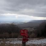 Pogled iz planinskega doma