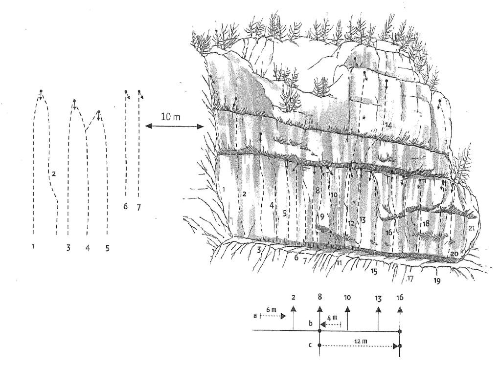 SLIKA - Plezališče Luknja herbari