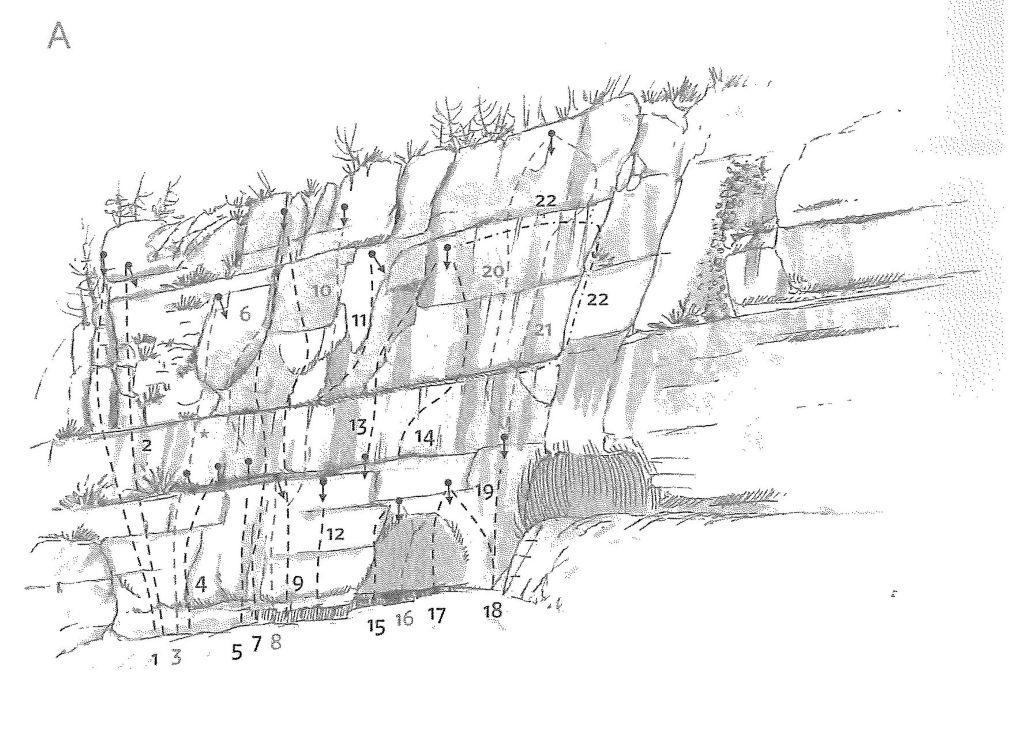 SLIKA - Plezališče Luknja sektor A