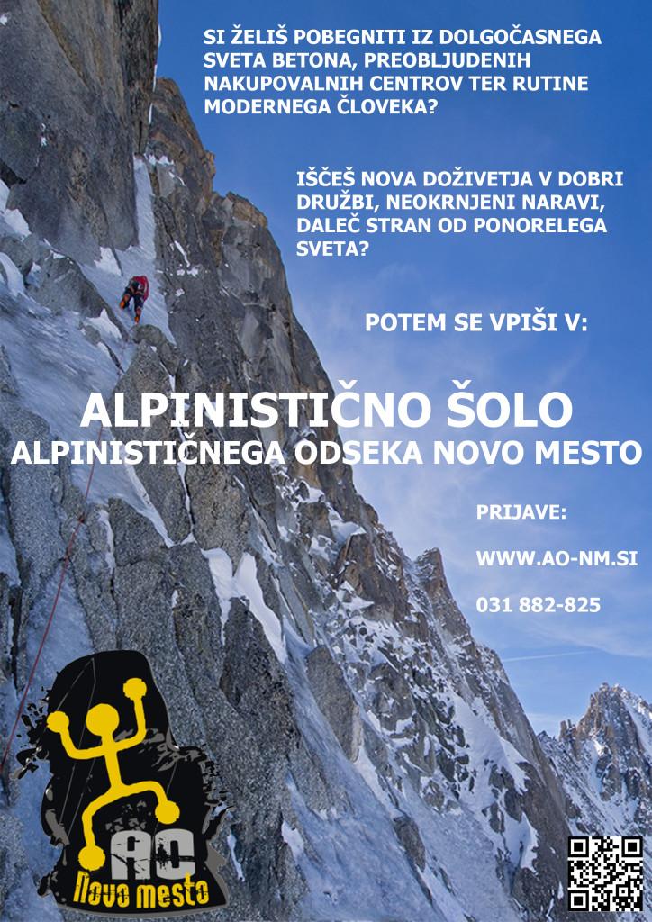 alpinistična šola 2015